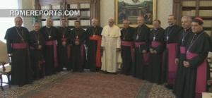 PaPa Francisco y Obispos Mexicanos
