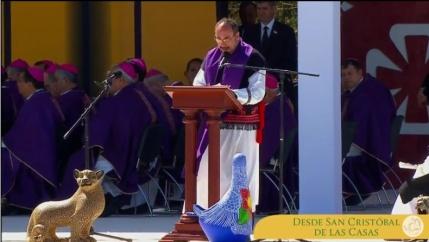 Pap Francisco en Chiapas