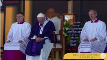 Papa en Chiapas