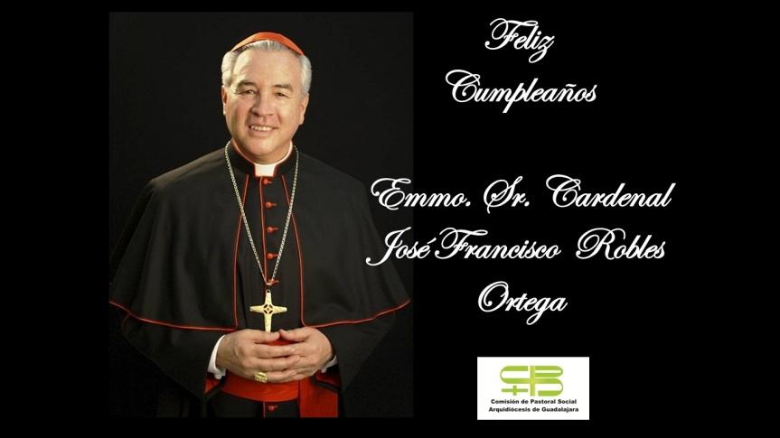 Felicitación al Sr. Cardenal
