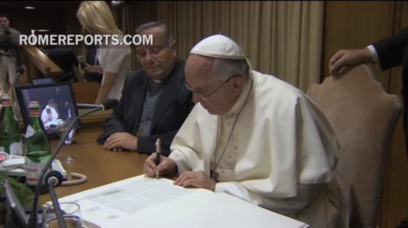 Papa Francisco a Familias
