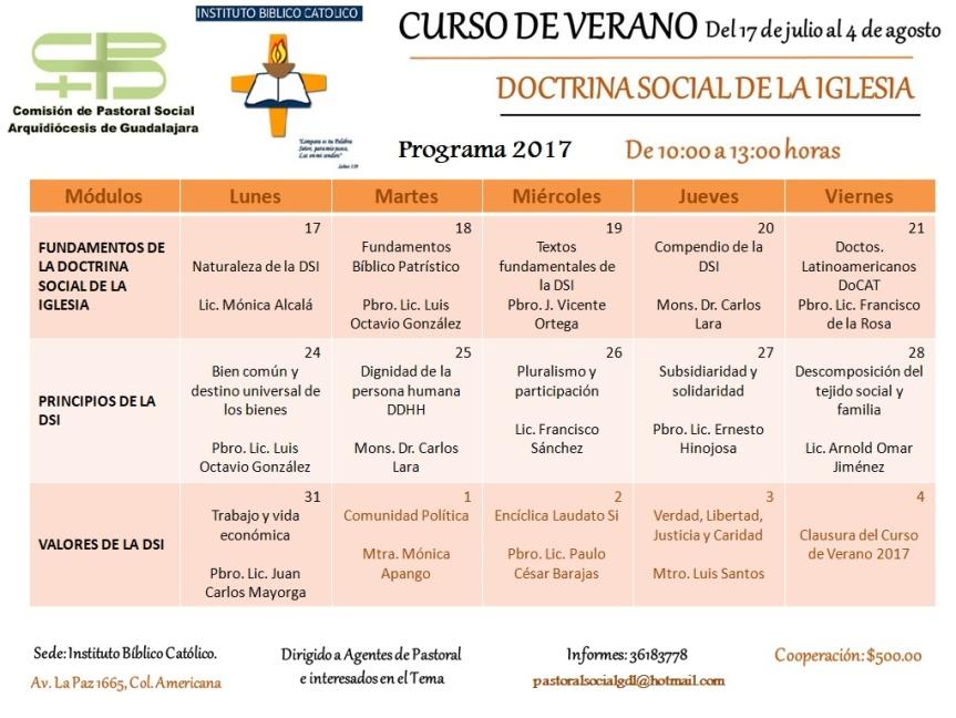 Curso de Verano 2017