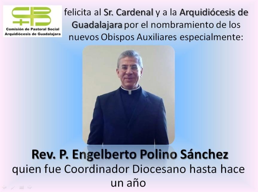 Felicitamos CDPS a Rev. P. Engelberto