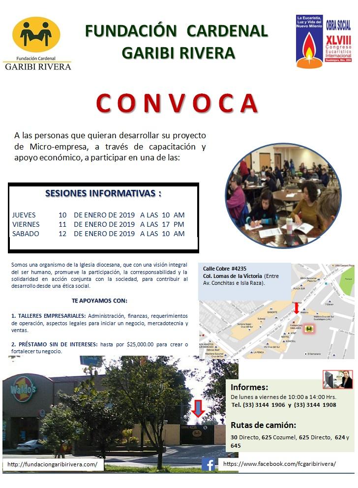 Convocartoria 2019 FCGR